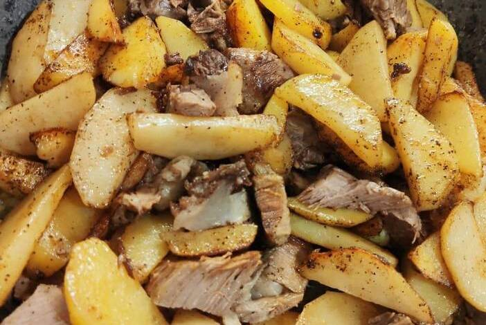 Рецепты из картофеля на сковороде