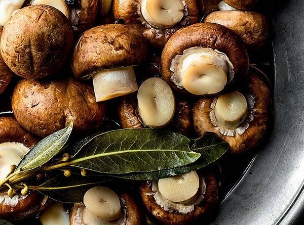 Маринованные грибы на зиму рецепт с фото