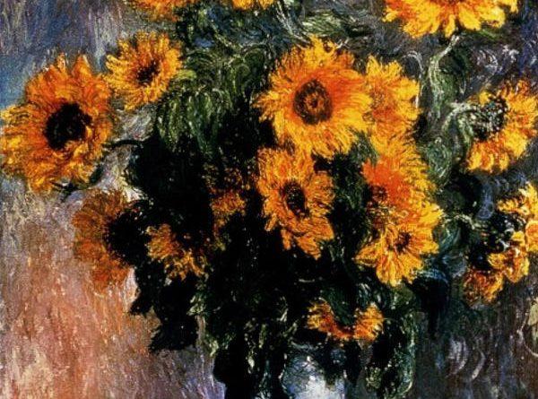 Цветы в картинах великих художников