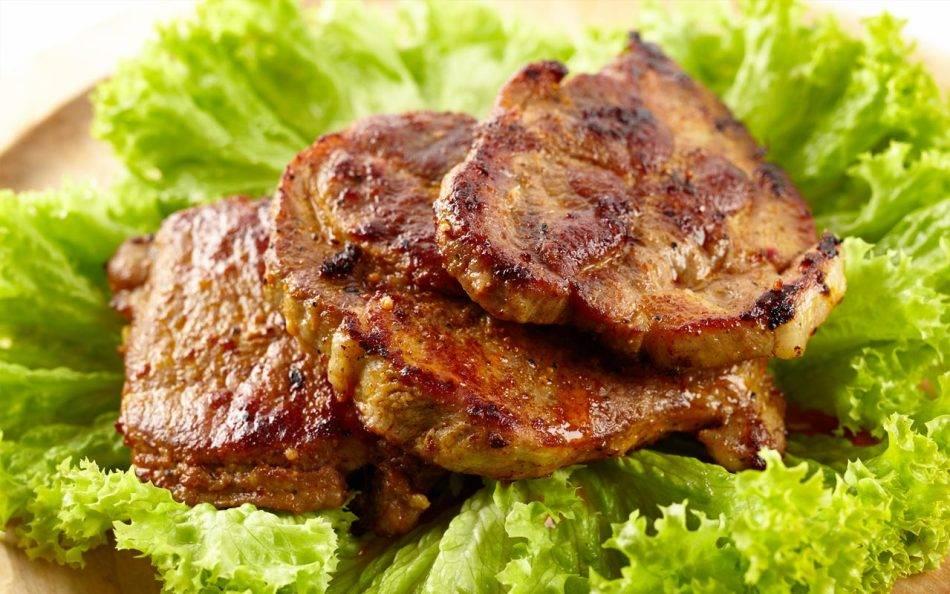 Блюда из костей свинины