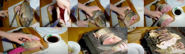 Рыба на электрогриле рецепты с фото