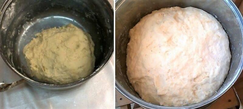Тесто для пирожков простое и вкусное