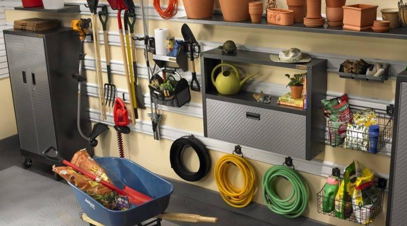 Домик для садового инвентаря фото