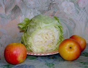 Яблоки моченые рецепт домашние с капустой