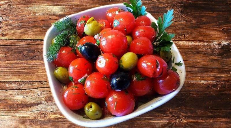 Перезрелые помидоры используют