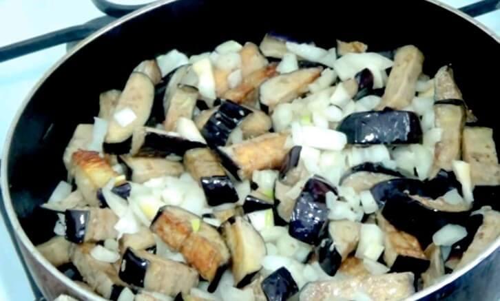 Баклажаны как грибы закуска