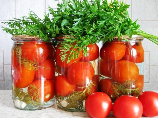 Вкусные заготовки из помидор на зиму