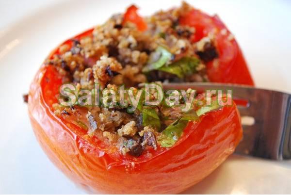 Фаршированные помидоры закуска