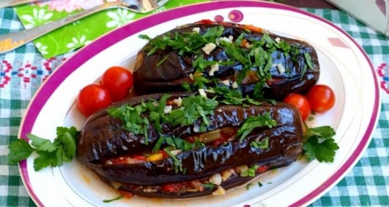 Вкусное блюдо из баклажанов на сковороде