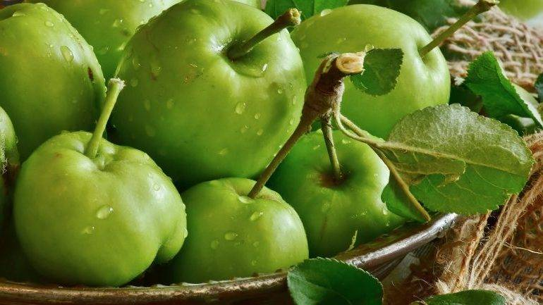 Как замачивать яблоки на зиму