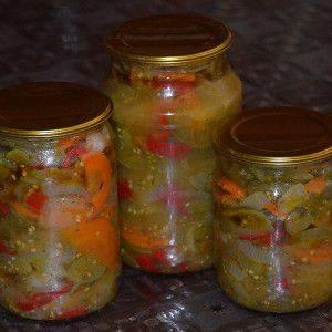 Рецепт приготовления зеленых помидоров