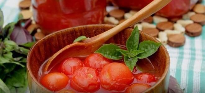 Помидоры в томате рецепт