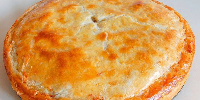 Рецепт теста для пирога без дрожжей