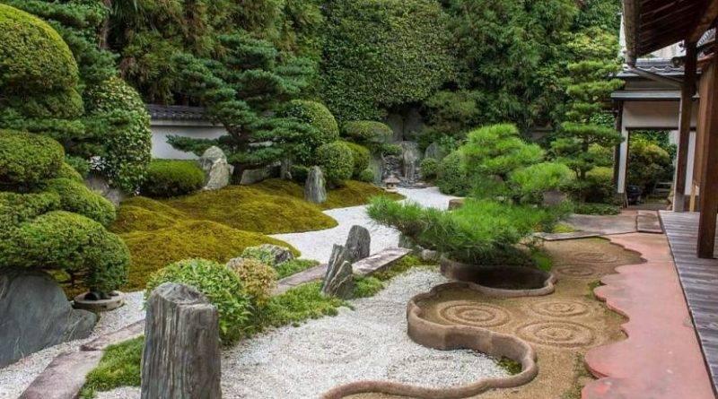 Красивые садовые участки