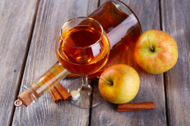 Наливка из яблок на спирту