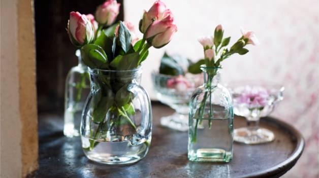 Розы в ванну с холодной водой