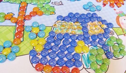 Поделки из стеклянных шариков