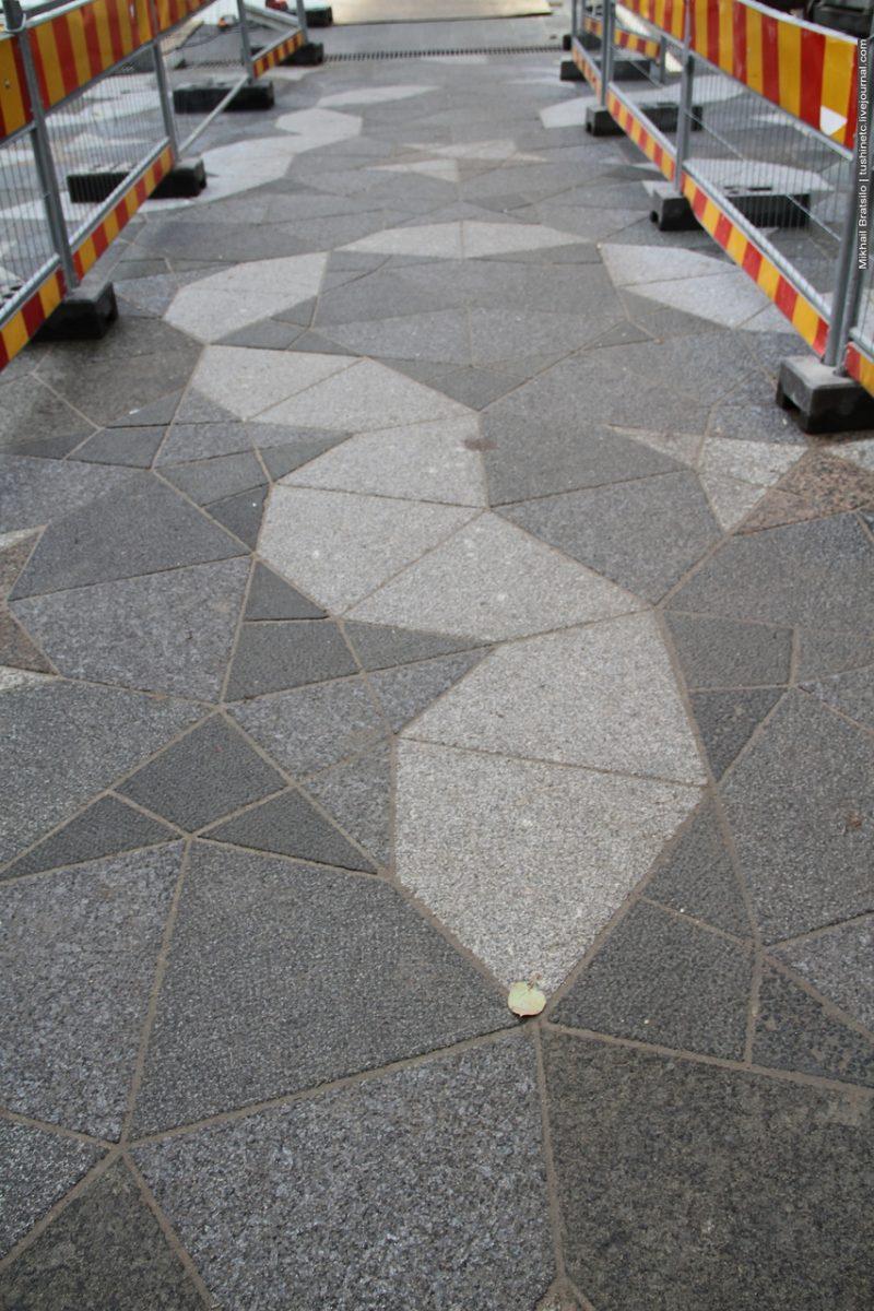 Укладка уличной плитки