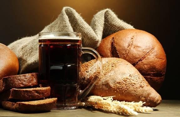 Выпечка из черствого белого хлеба