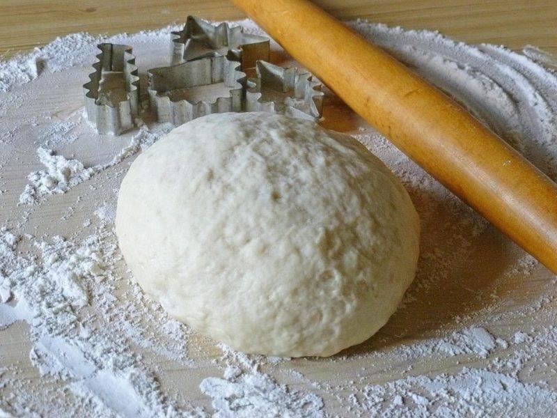 Быстрое тесто на пироги за 20 минут
