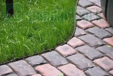Гибкий бордюр для газона