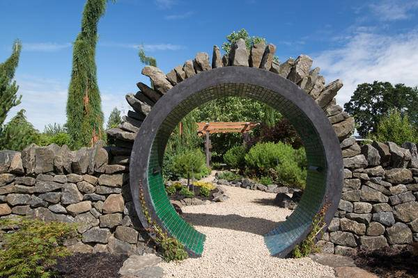 Виноградные арки во дворе фото