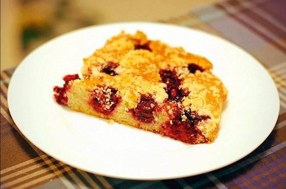 Вишневая начинка для пирога