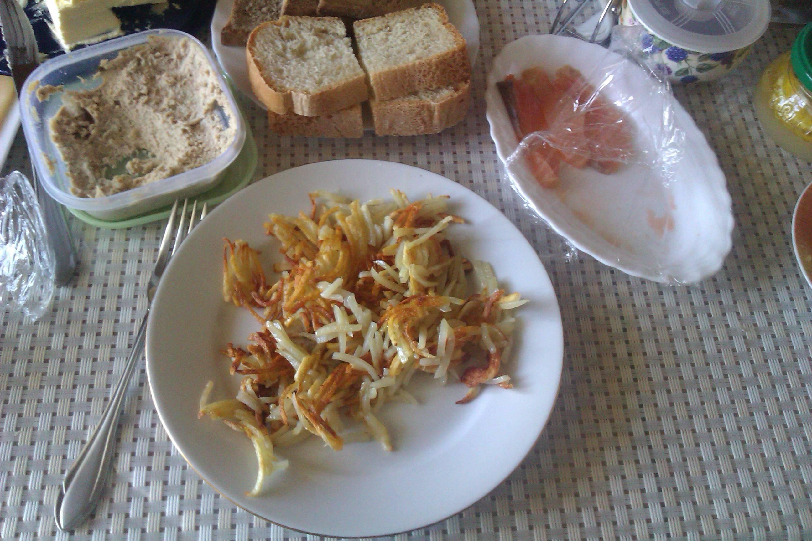 Блюда из тертого картофеля на сковороде