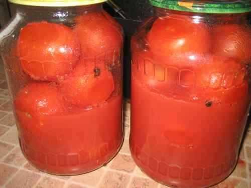 Консервация помидоров на зиму рецепты