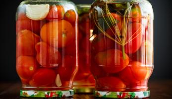 Рецепты маринования помидор