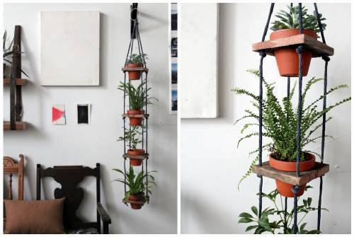 Как сделать подставку для цветов