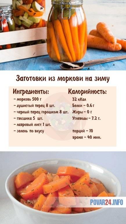 Рецепт моркови на зиму в банках