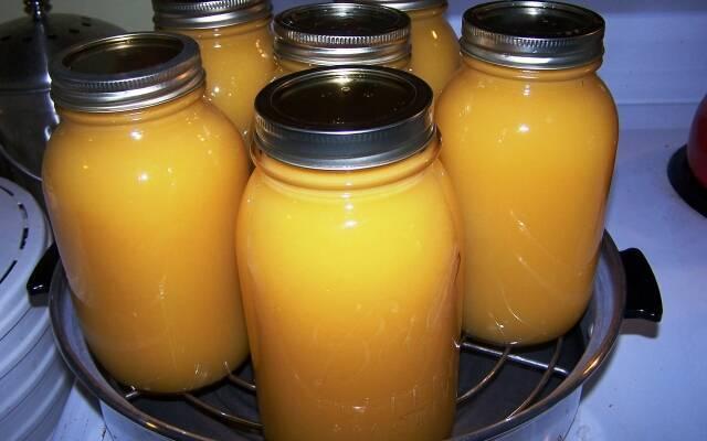Консервация яблочного сока
