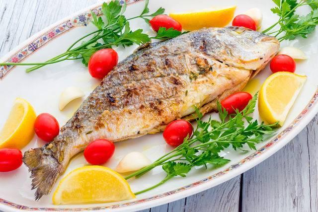 Рыба на гриле рецепты с фото