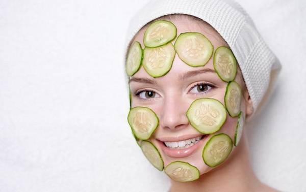 Огурец для кожи лица