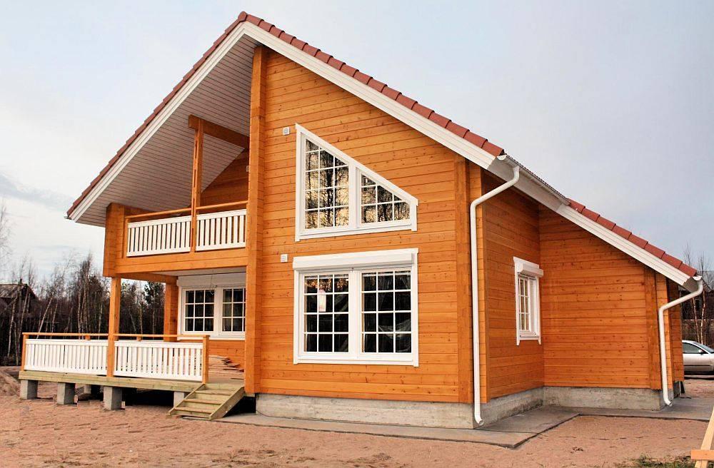 Сборные дома по канадской технологии