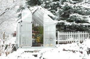 Как построить зимнюю теплицу с отоплением