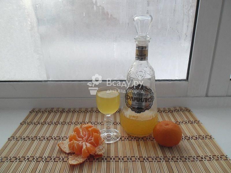 Настойки на основе водки