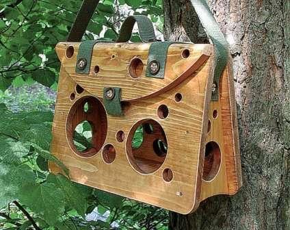 Кормушка для птиц мастер класс