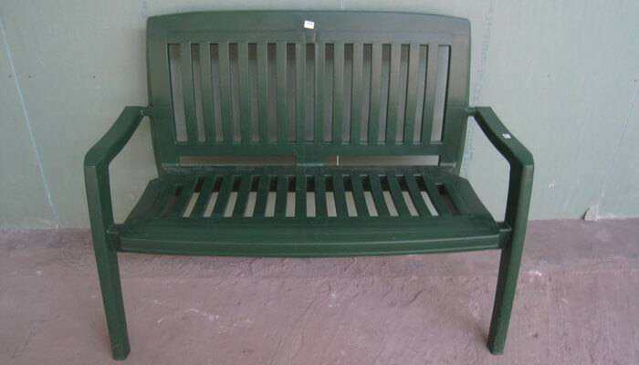 Декоративные скамейки фото