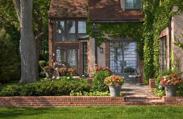 Английские домики и садики фото