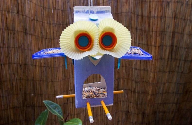 Можно ли красить кормушку для птиц