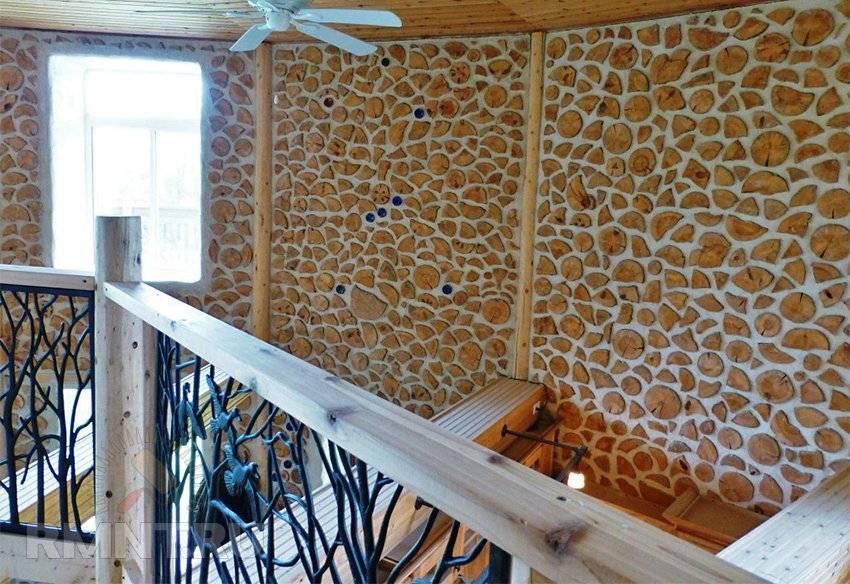 Дома из дров и цемента
