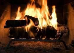Как разжечь камин