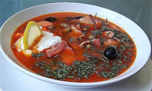 Как делать суп солянку