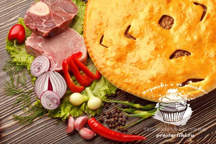 Овощные начинки для пирогов