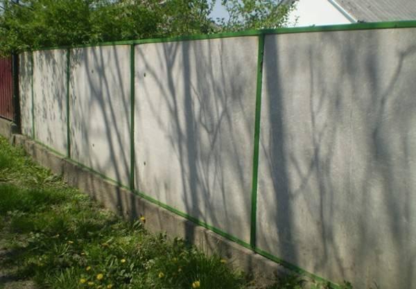 Невысокий забор