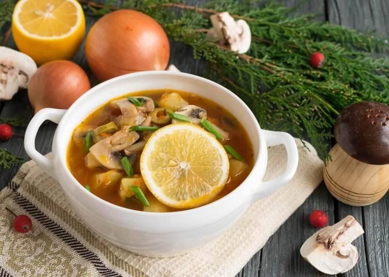 Как сделать суп солянку