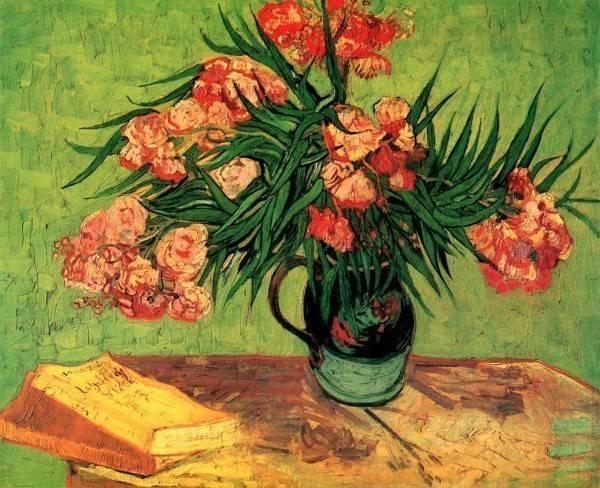 Картины с цветами известных художников