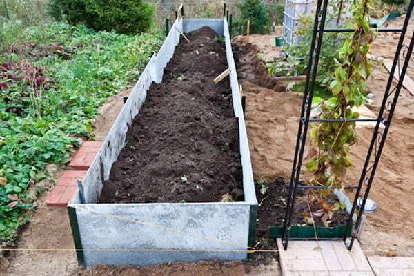 Сад и огород теплая грядка